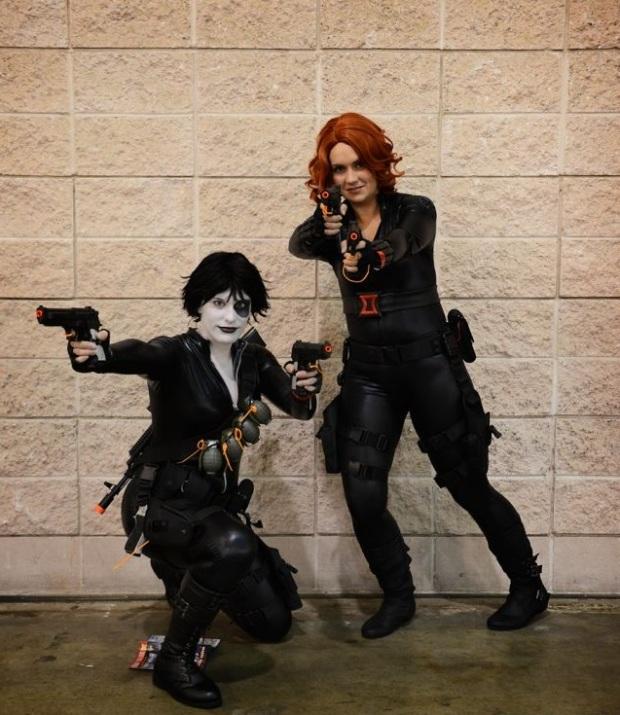 Domino & Black Widow