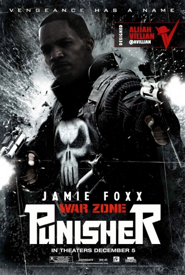 Punisher_Jamie_Foxx_Black_Superheroes_Reimagined_@avillian_Alijah_Villian_Art_by_Alijah_Villian