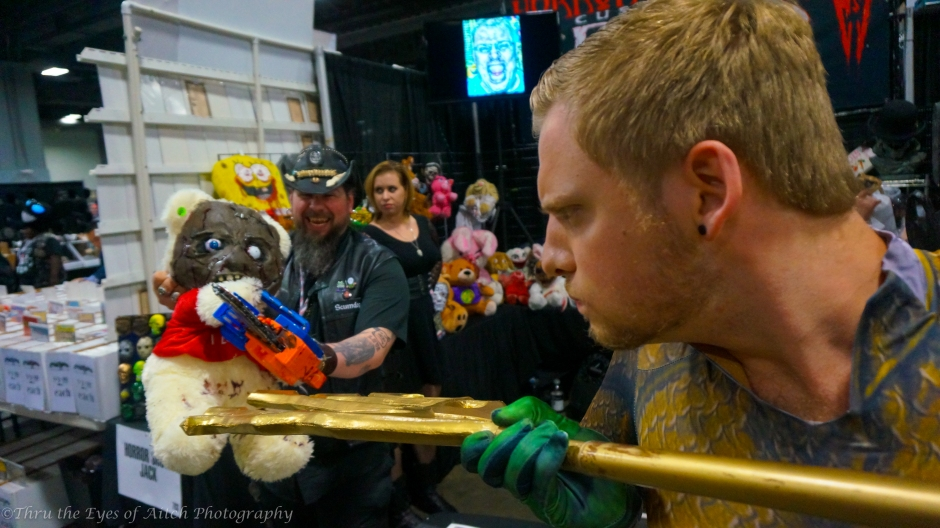 Aquaman vs the Killer Teddy bear