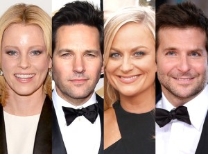 Elizabeth Banks, Paul Rudd, Amy Poehler & Bradley Cooper