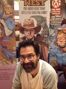 Comic Scribe Greg Pak