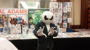 The Nightmare Before Neal Adams' table