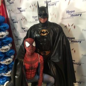 SpideySteve and Lenny Robinson Batman