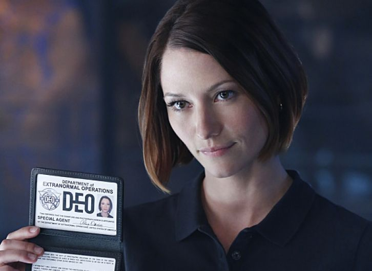 Chyler Leigh as Special Agent Alex Danvers Supergirl CBS