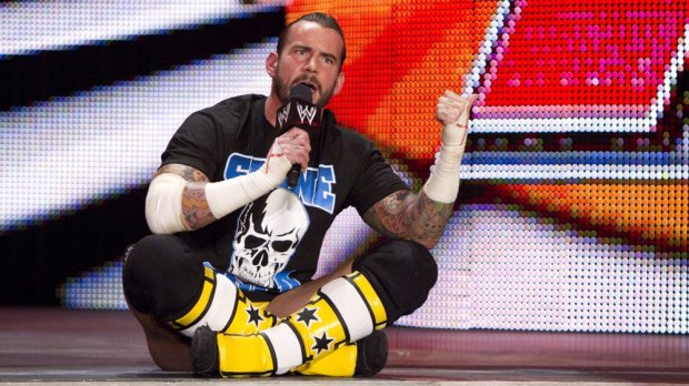 """CM Punk delivers the """"Pipe Bomb"""""""