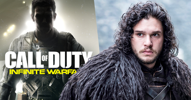 Kit harrington goes from hero of the north to villain in call of duty