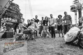 Sutton Foster rehearsal