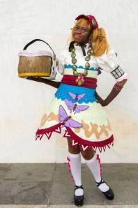 My FB page is facebook.com/mythril-arts and my Instagram is @mythril_arts. This year cosplay has been about trying my very best to craft costumes that I can be proud of, especially as I'm representing and hopefully inspiring black women cosplayers. Cosplay has been a huge confidence booster as well as a chance for me to express my creative muscles.