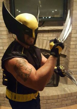 My Facebook is www.facebook.com/anthony.pacella.77 In 2016 I finally decided to create the character I have wanted to for years, Wolverine, but had never had the time to do so. I have done cosplay for years and my kids have always loved my suits as do other kids which make it all worthwhile. With this year's suit I am enjoying it more than ever...so much that I am already working on an upgrade to Wolverine for next year!