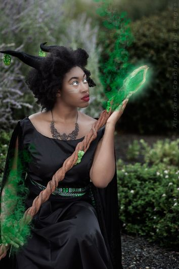 Facebook: Afrogeek Cosplay - https://www.facebook.com/afrogeekchick122/ Instagram: @smika122 I took a step outside of my comfort zone and cosplayed characters using my natural hair and not hiding my blackness, which is huge for me! I even stepped up my prop making game by making huge molds and using various resins. The company that makes the products I used know me personally! How wild!