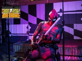 IG: @insyne_vigilante Facebook: www.Facebook.com/thewebpool 2016 was the year of cosplay party. Also the year of charities and events for myself, The Web-Pool, and Charm City Ghostbusters, my two groups I run with. This photo was from a Bar Crawl, on stage performing.