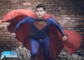 """Facebook: Chicago Superman - https://www.facebook.com/Chicago.Superman/ Instagram: http://instagram.com/Chicago.Superman Photo by: Mugenstylus Productions 2016 was special to me when I had little Grace (4yrs old) who remembered me from last year, claimed me as """"Her Superman"""" even when other Supermen were around. It's always nice to know that I made a good impact on the kid"""