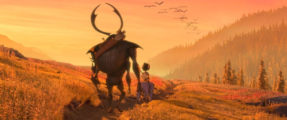 Screenshot from Kubo and the Two Strings