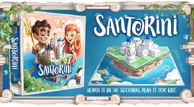 Santorini A classic board game reimagined for new audiences Pop