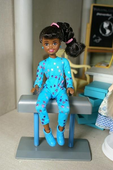 Image result for barbie doll janet gymnast