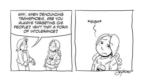 Cartoon panels