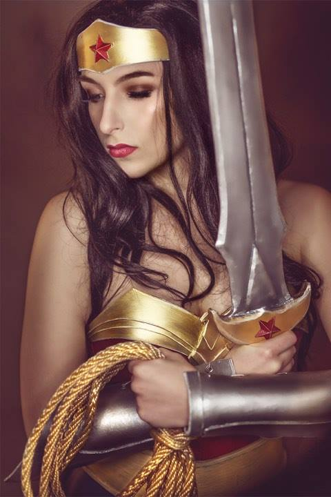 Doreen M. - For me Diana is a fierce and fearless warrior who doesn't lose her grace or femininity.