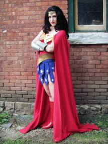 Hannah L. - Wonder Woman, for me, is all about representation. In a world with no shortage of male superheroes, Wonder Woman is there to save the day for little girls (and women) around the world. She is strong, independent, and kicks butt. I cosplay Wonder Woman because I feel confident when I put on that skirt and tiara. I've had some of the best interactions with kids and adults as Wonder Woman and I don't plan on stopping anytime soon.