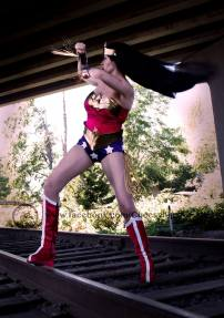 Zara G. - Wonder Woman has shown me and many other girls and women around the world that you can be beautiful with muscles because it makes you strong both physically and mentally. Don't shy away from picking up those weights and getting buff.