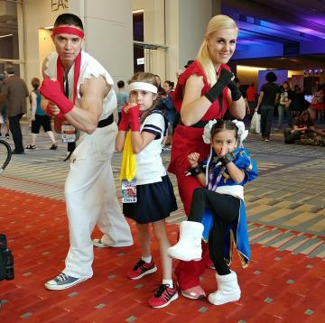 Street Fighter Family