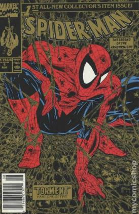 I was about 13 when I first saw this cover. That's when I really caught the comic book bug. I thought the art was amazing (no pun intended). It was in a 5 pack at Wal-mart for about $10. Issues #1 through 5.