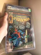 I have no idea how I got this book. It's been in my collection forever. I can only imagine how I got it. I have since purchased a Near Mint copy. This copy is an original copy of mine.
