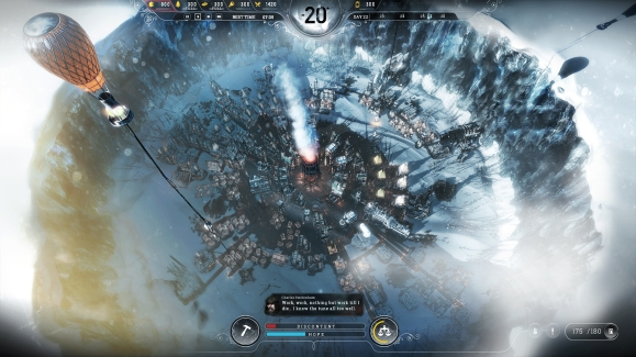 Frostpunk Gameplay shot
