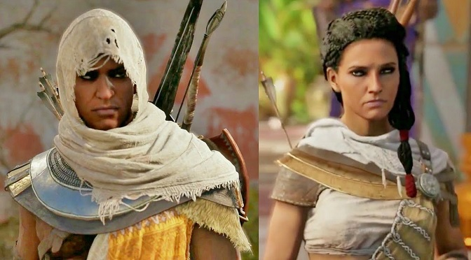 Bayek S Wife Will Be Playable In Assassins Creed Origins Pop