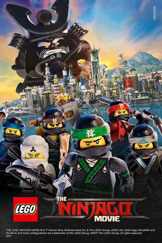 LEGO® Ninjago® film / The Lego Ninjago Movie (2017)