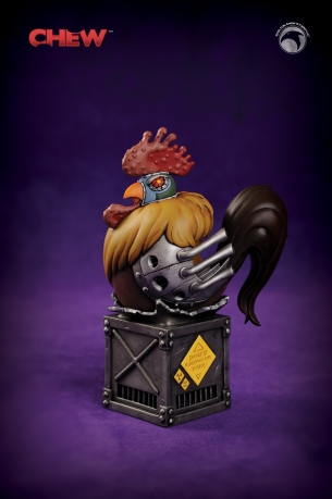CHEW's new Secret Agent Poyo mini-bust (1)
