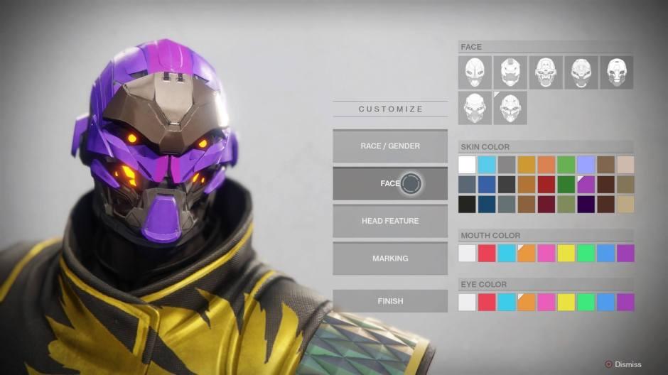 D2 Face Select
