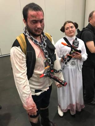 Leia and Solo