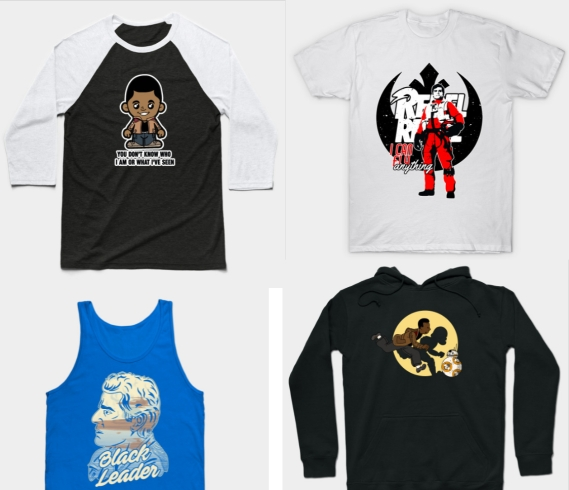 finn and poe apparel teepublic