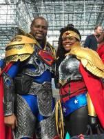 Superman and Wonder Woman