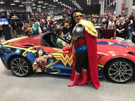 Wonder Woman and her Ride