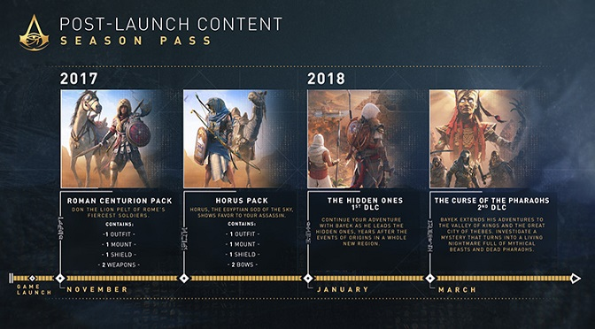 Assassins Creed Origins Dlc Details Are Here Pop Culture Uncovered
