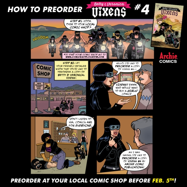 Vixens_4-PreorderComic