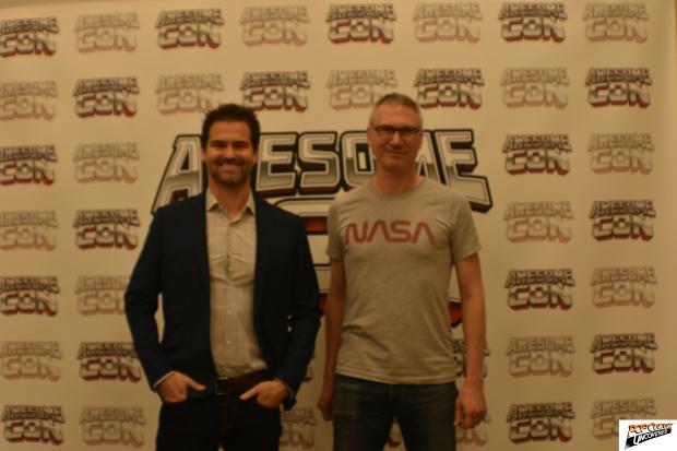Burk Sharpless and Matt Sazama of Lost In Space