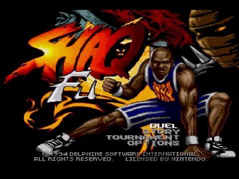 Shaq Fu Original
