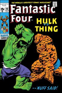 TRUE BELIEVERS- FANTASTIC FOUR- HULK VS. THING #1- Reprinting material from Fantastic Four (1961) #112
