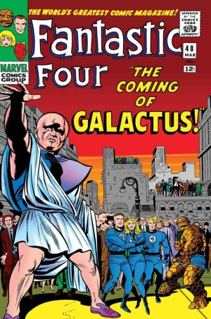 TRUE BELIEVERS- FANTASTIC FOUR- THE COMING OF GALACTUS #1- Reprinting material from Fantastic Four (1961) #48