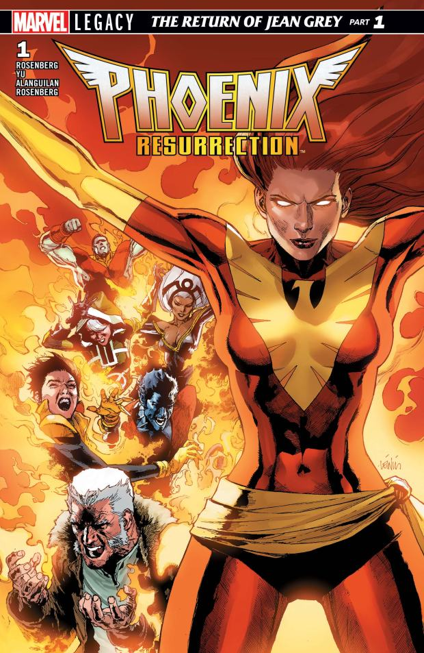 Phoenix Resurrection_The Return of Jean Grey (2018) #1
