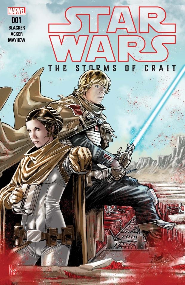 STAR WARS_THE LAST JEDI - THE STORMS OF CRAIT (2017) #1