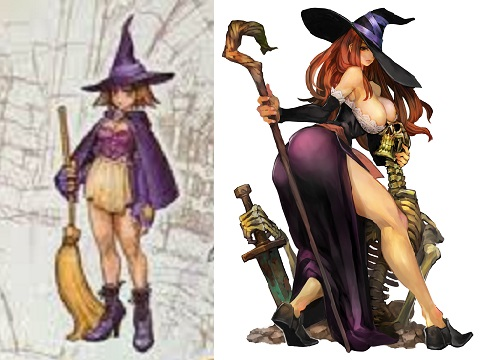 Dragons Crown Sorceress progression