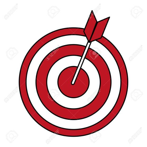 bullseye with dart icon image