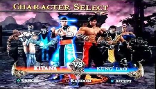 MK Shaolin Monks Versus
