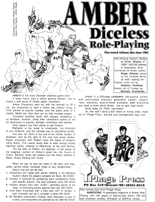 Amber Diceless RPG Ad.png