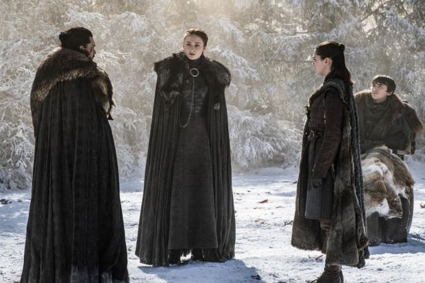 starks in the godswood