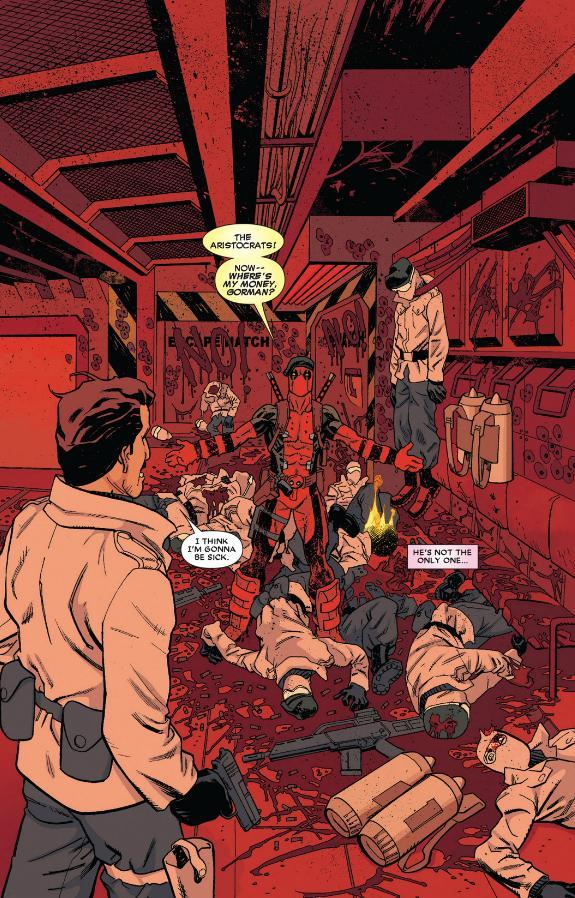 Deadpool The Aristocrats