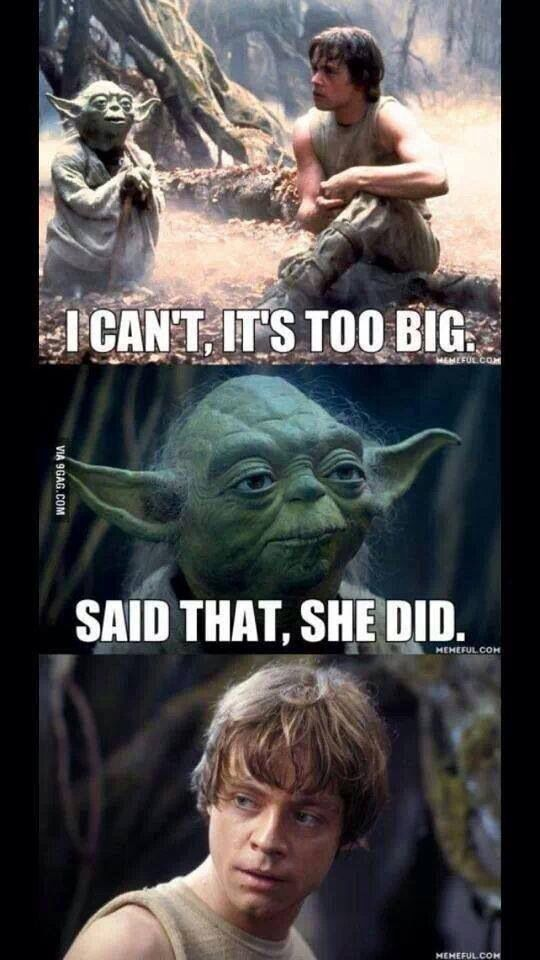 Star Wars That's What She Said